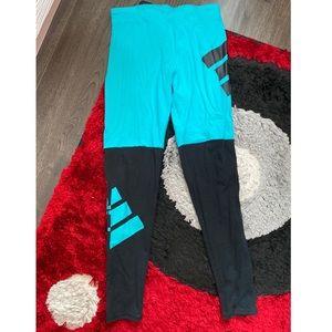 Adidas color block leggings